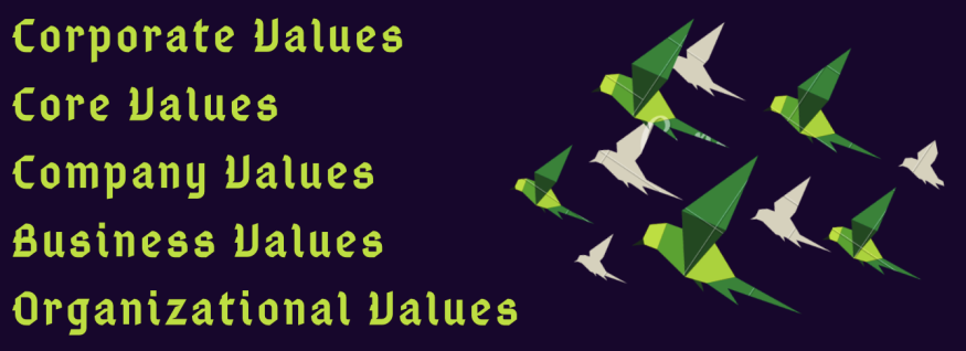 Corporate Value Synonyms